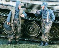1/35 II Guerra Mundial Soldados alemanes tomando un descanso Kit de modelo de resina (2 Figuras)