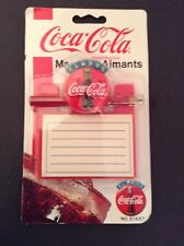 Vintage Coca Cola  Message pad with pencil. New in package 1995. Collectibles.