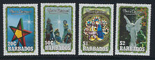 BARBADOS : 1990 Christmas set  SG944-7 MNH