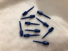 Lot de 8 grip fils neufs isolés bleu à souder