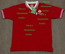 Manchester United 1977 Silver Jubilee Retro World Cup Soccer Football Club Shirt