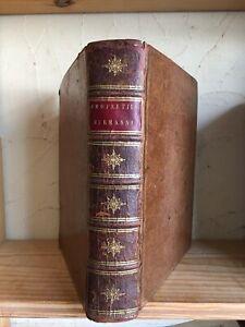 """1780, PROPERCE. """"Sex. Aurelii Propertii Elegiarum libri IV"""" In-Quarto Scarce"""