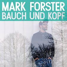 MARK FORSTER - BAUCH UND KOPF  CD  13 TRACKS DEUTSCH POP  NEU