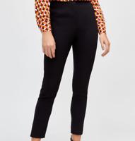 Women`s WAREHOUSE Smart Office Work Trousers Size 10 Slim Fit Black