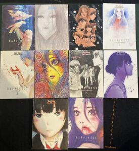 Happiness 1-10 Full Set by Shuzo Oshimi Manga English