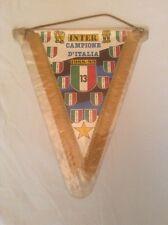 INTER MILAN ORIGINALE XLarge 1989 Serie A Champions pennant ottime condizioni