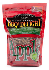 SF101 BBQrs Smoking Grilling Pellets 450g Apple flavoured; Strong sweet fruity s