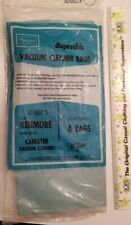 SEARS Kenmore Disposable Canister Vacuum Cleaner Bags 20-5023 - 4 BAGS New