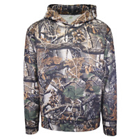 Green Mark Men's Seclusion 3D Wilderness Camo Pull Over Hoodie (S01)