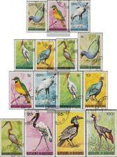 Burundi 143-157 (edición completa) usado 1965 sellos: Aves