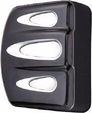 Arlen Ness - 04-301 - Deep Cut Coil Cover, Black