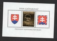 2009- Slovakia - Slovensko- Golden president stamp - Ivan Gasparovic- MS MNH**