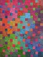 Xanadu Quilt Kit, Pattern Designs by jb, Batik Fabrics DIY Quilting Janine Burke
