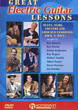 Great Electric Guitar Lessons Learn to Play Beginner Tutorial Easy Music DVD