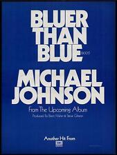 """1978 MICHAEL JOHNSON """"THE MICHAEL JOHNSON ALBUM"""" ALBUM PROMO AD"""