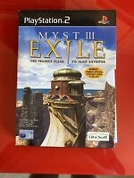 Sony Playstation 2 Game * MYST III 3 EXILE with PRIMA STRATEGY GUIDE * PS2