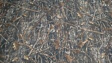 "CONCEAL BROWN COTTON POLY TWILL CAMO FABRIC 60""W CAMOUFLAGE WATER REPELLENT"