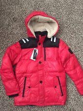 New Diesel Boys Hooded Down Puffer Winter Jacket Size:12Y