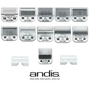 Andis CERAMIC EDGE Replacement Clipper Blades - All Sizes - Fit Oster Clippers