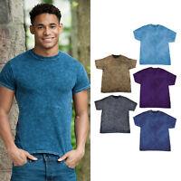 Colortone Mineral Wash T TD03M - Short Sleeve Colorful T-Shirt Cotton Summerwear