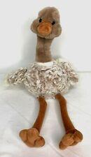 """Ostrich Gund Plush Flightless Bird Africa Dahling 523117"""" Retired 1997 Vintage"""