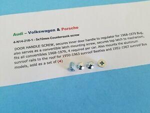 Volkswagen & Porsche 5x10mm Screw for Window Crank & Aluminum Sunroof Rails