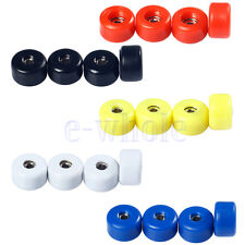 4 Pcs/Set Professional Urethane CNC Bearing Wheels for Wooden Fingerboard HM