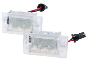 2x 18 SMD LED Interior Lighting Boot For Ford MK1 Focus Modellet A530
