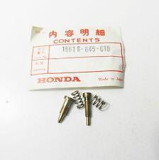 Vergaser Einstellschrauben Set Screw Set A Carburetor Honda QA 50 - Z 50 - PC 50