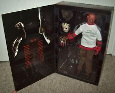 "Freddy vs Jason Sideshow EXCLUSIVE 12"" Krueger Figure MISB ANOES friday the 13th"