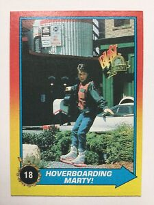 Topps Back To The Future Part II 2 Trading Card 18 Hoverboarding Marty