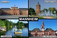 SOUVENIR FRIDGE MAGNET of MANNHEIM GERMANY