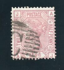 QV Used Abroad Sg 141 plate 6 ( A J ) with C pmk of Constantinople.