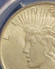 ELITE 30 1922 Silver Peace PCGS AU58 VSS ~ Ultra Rare VAM 2L ~ Cross In Rays