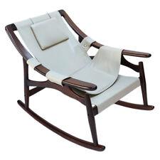 1960s Liceu de Arte Brazilian Jacaranda Rocking Chair