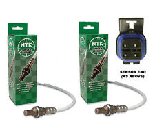 98-02 LS1 Camaro Firebird Trans Am Rear Oxygen Sensors O2 BLACK SQUARE PAIR NGK
