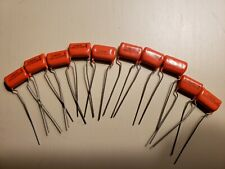 10 each (10) Nos Sprague .1 Mfd 200 Dc Orange Drop Capacitor Audio