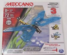 Meccano 3 Model Set Insects metal build and play erector set Stem new #16205