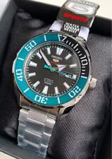 SRPC53K1 Automatic Green and Black Dial Silver Steel Watch for Men