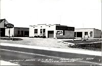Munster Indiana~Midwest Motel~Block Ranch Style~Office~US 41~1940s RPPC