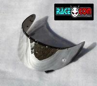 Shoei helmet visor NXR X Spirit 111 RF1200  chrome mirror tint
