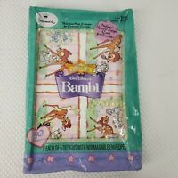 Vintage Hallmark Disney Bambi Valentine Card Box School