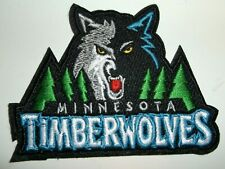 Minnesota Timberwolves Embroidered PATCH~@ 3 1/2 x 2 5/8~Iron or Sew On~NBA