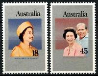 Australia 1977 Silver Jubilee MNH Set #R285