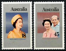 Australia 1977 Jubileo De Plata Mnh Set #r 285