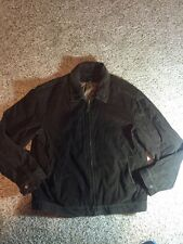 J Crew Brown Corduroy Lined Jacket Mens Size XL kd1