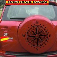 Pegatinas Rosa De Vientos Vinilo Decal Stickers Coche 4x4 Jeep Toyota 45x46cm