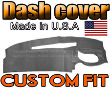 fits 1995 1996 CHEVROLET SILVERADO TRUCK DASH COVER MAT DASHBOARD/ CHARCOAL GREY