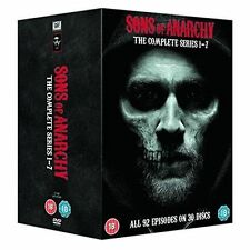 Sons of Anarchy Complete Seasons Series 1 - 7 DVD BOXSET All 92 Episodes
