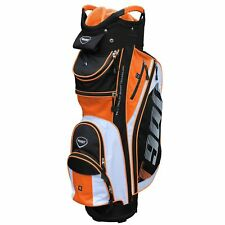 Masters 2018 T900 Golf Cart Trolley Bag 14 Way Divider Top Black / White / Orange